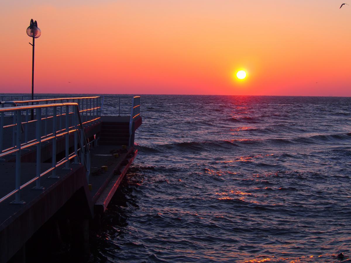 Sunrise morning ocean  #20355