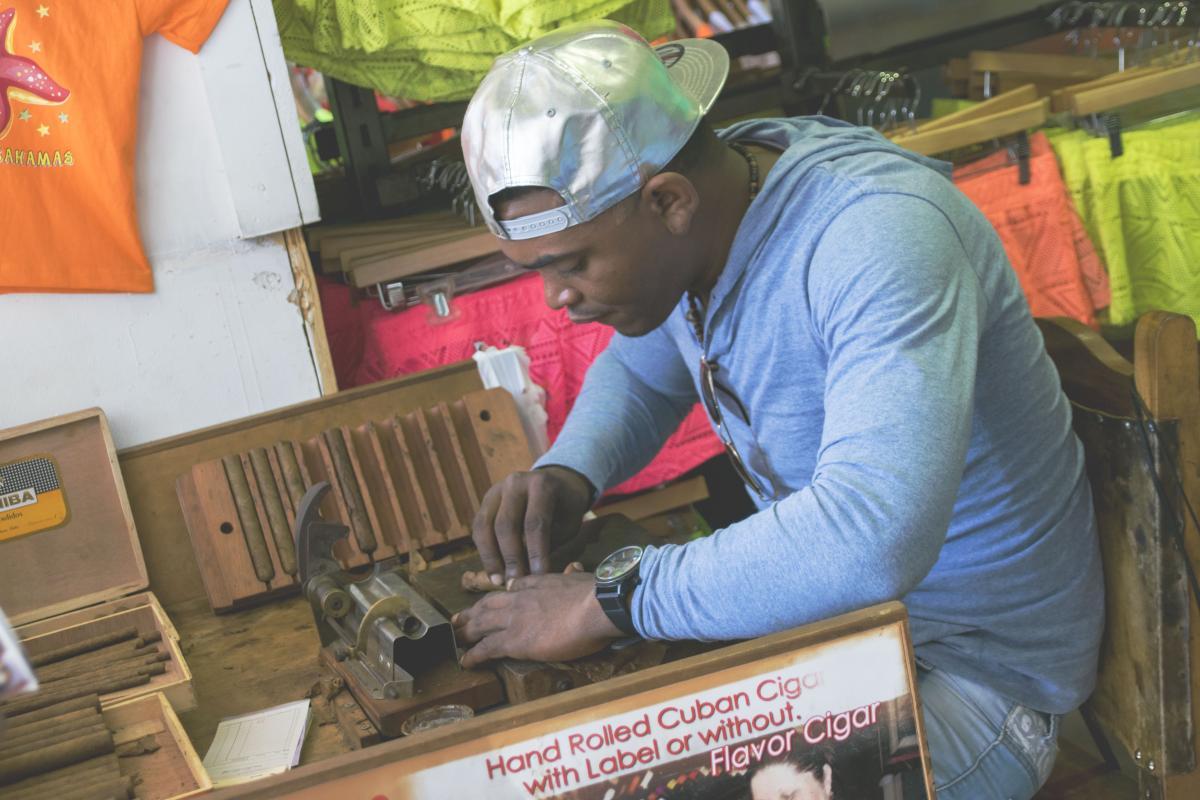 Man Worker Machine