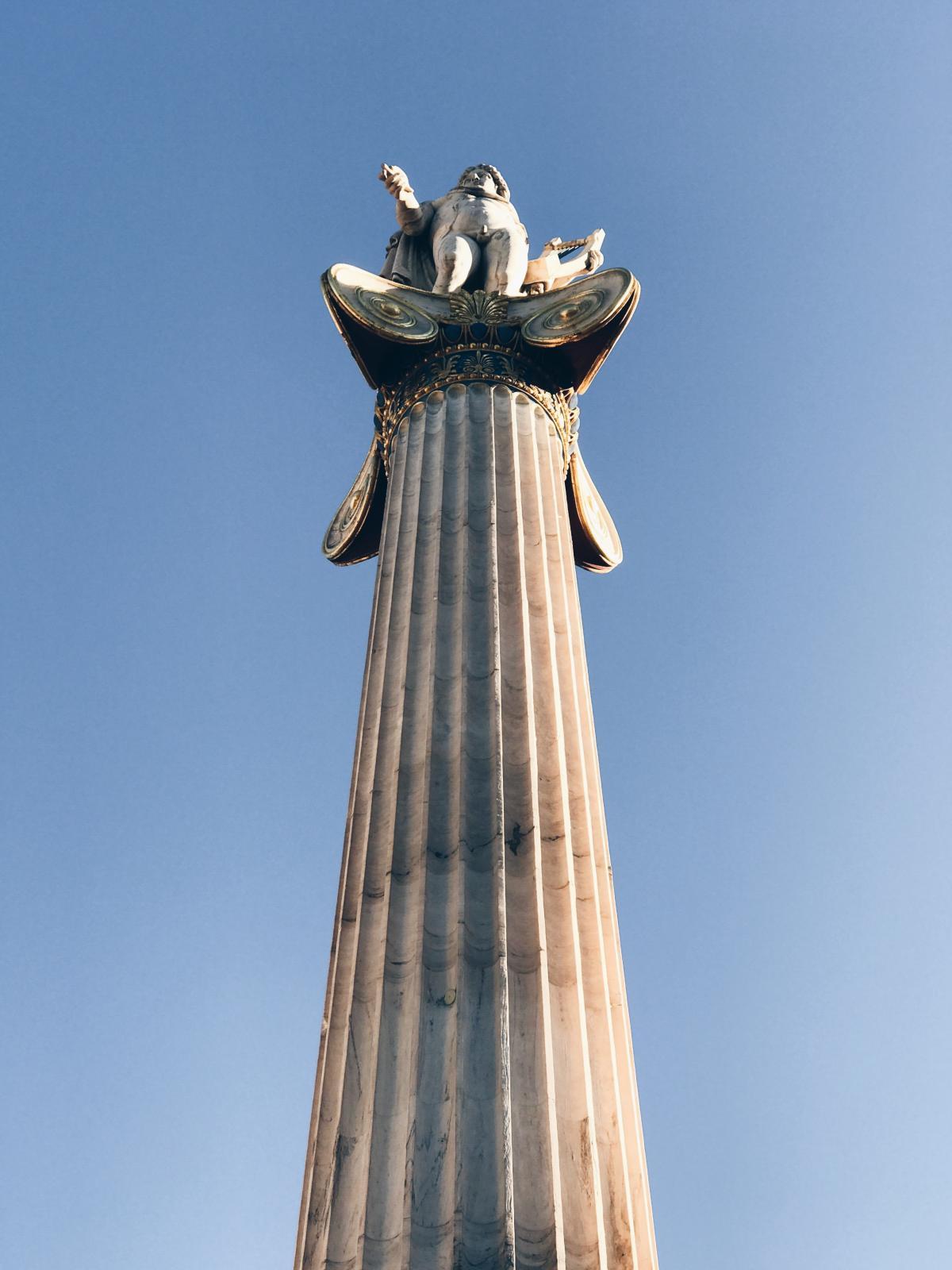 Statue Column Architecture #209013