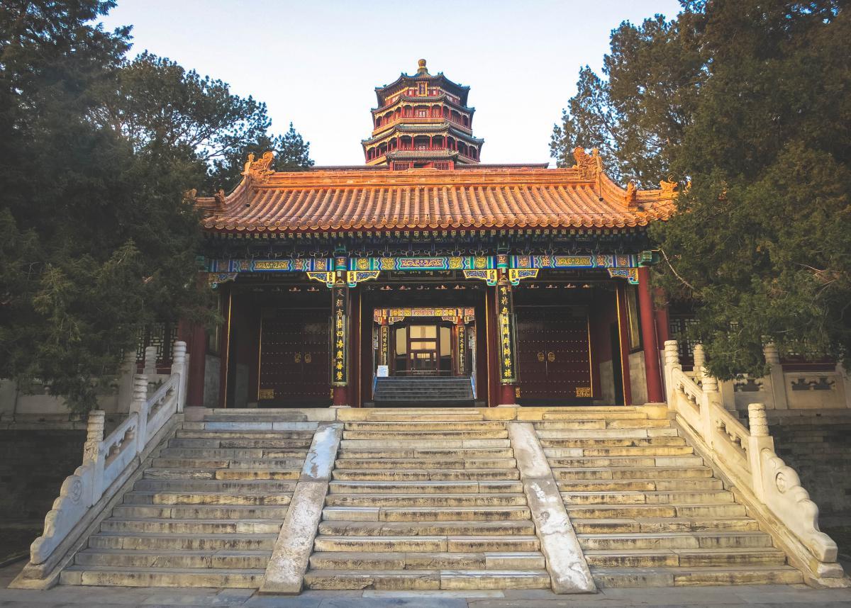 Summer Palace Beijing China  #21163