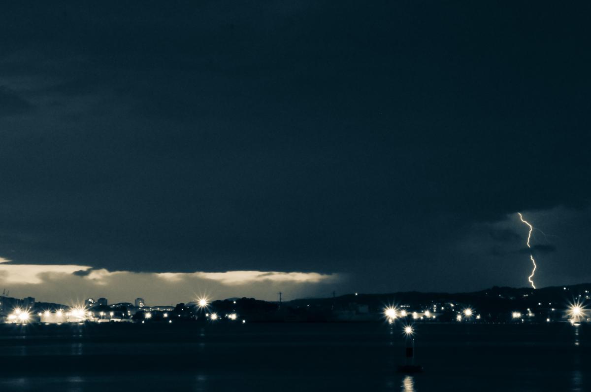 dark storm lightning