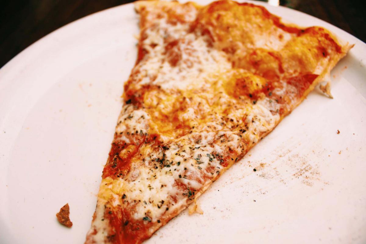 Pizza rebanada de comida #21996