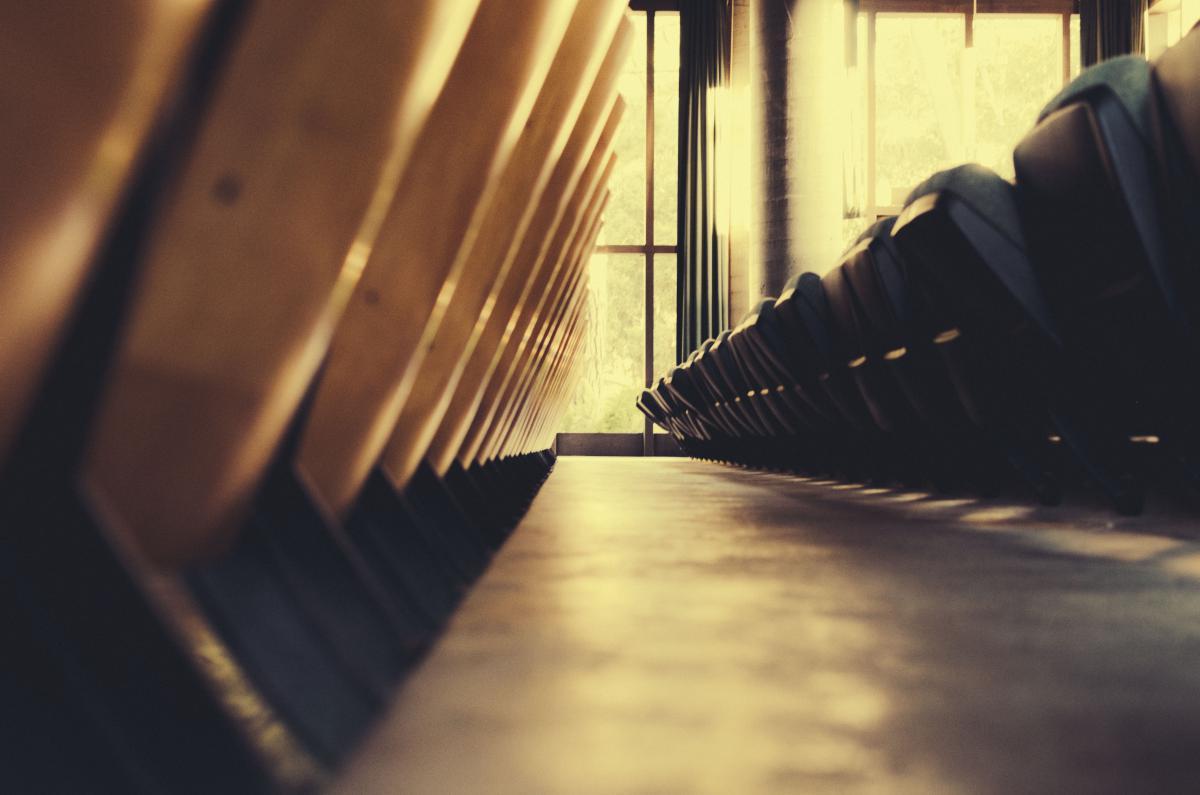 Chairs seats auditorium  #22290
