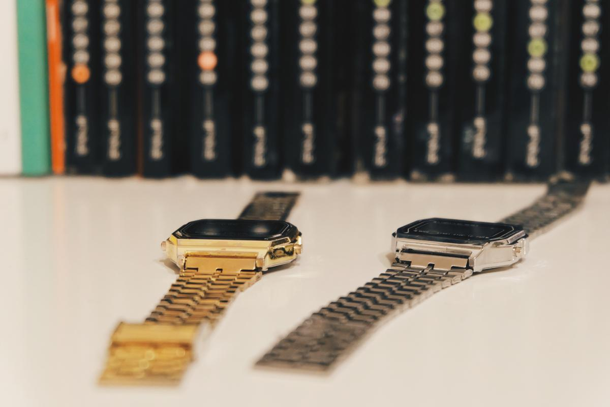 watches gold silver