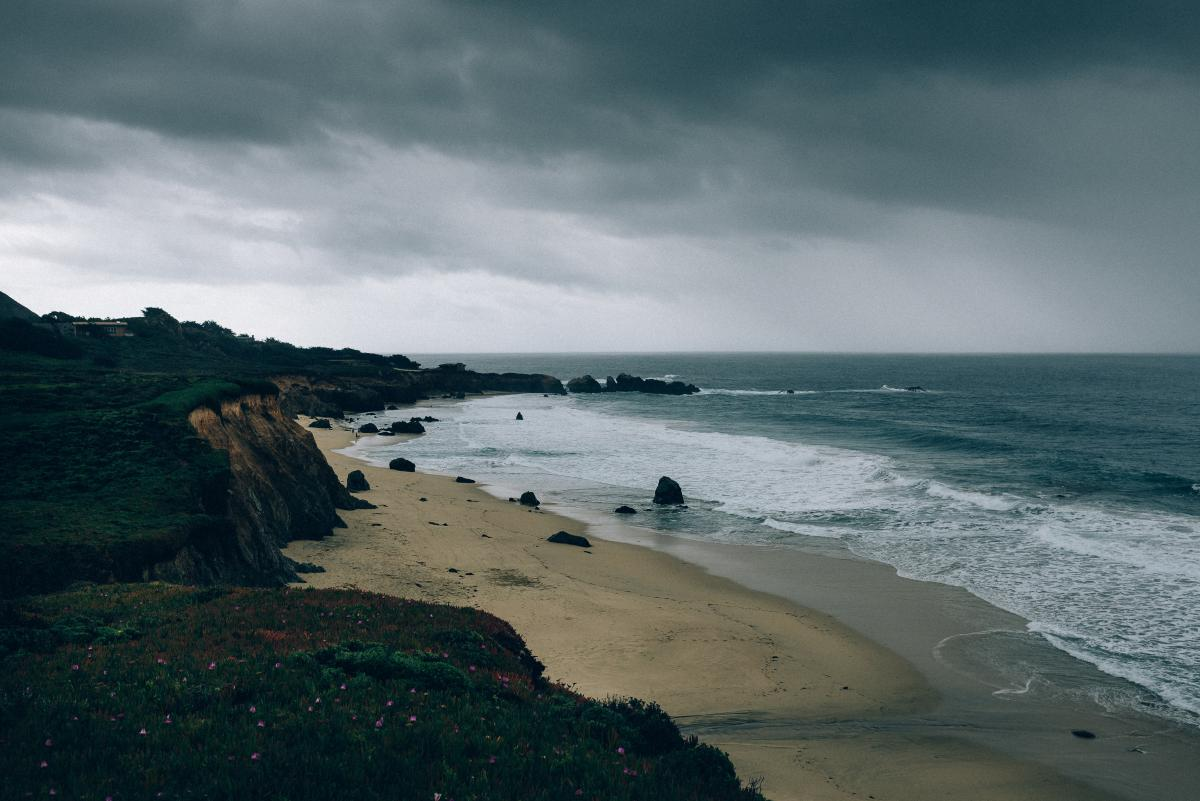 dark cloudy storm