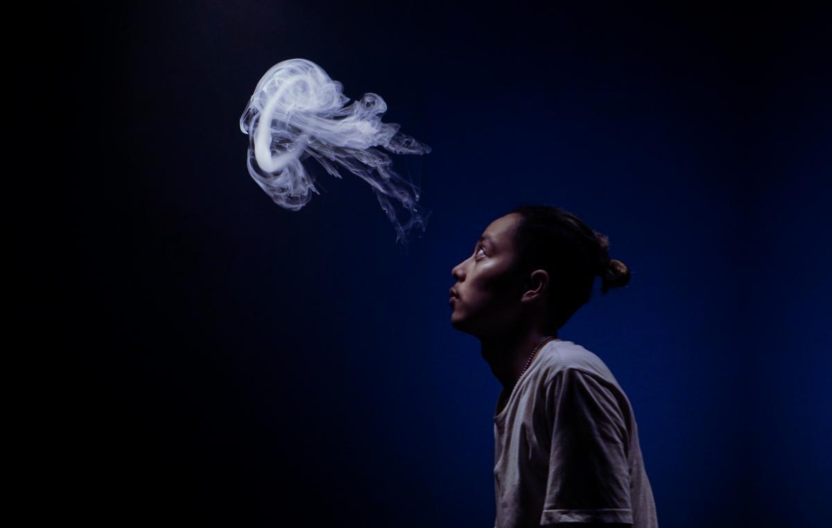 Black Human Jellyfish