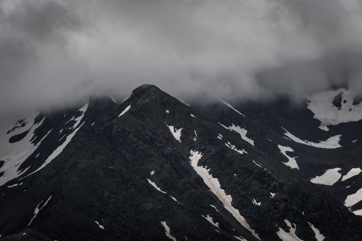 Paisaje del cielo de montaña #231037