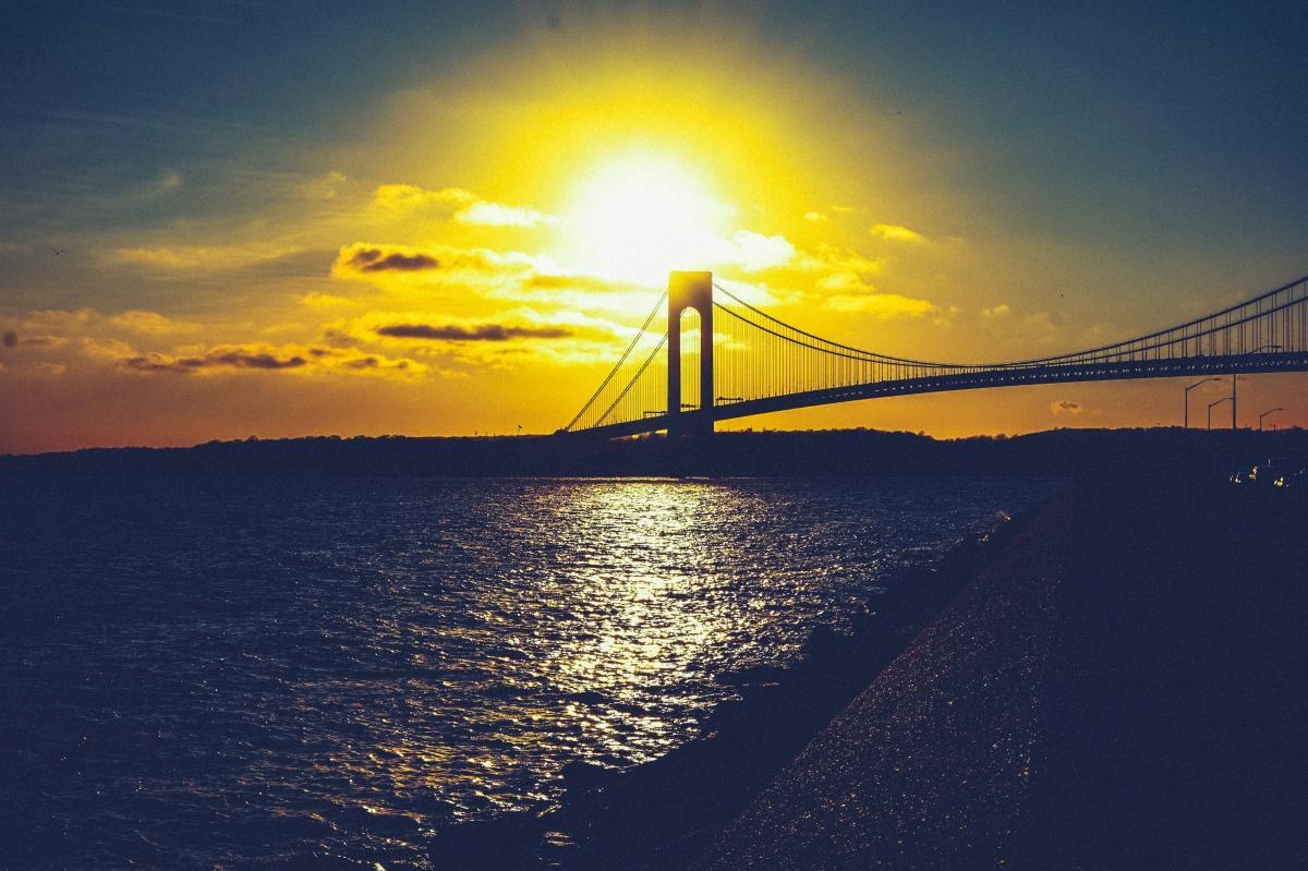 Pier Bridge Sky #238695