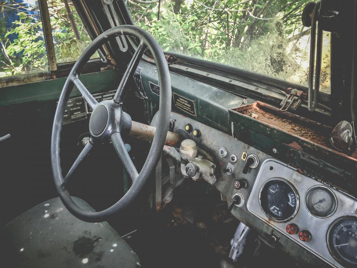 car truck dashboard