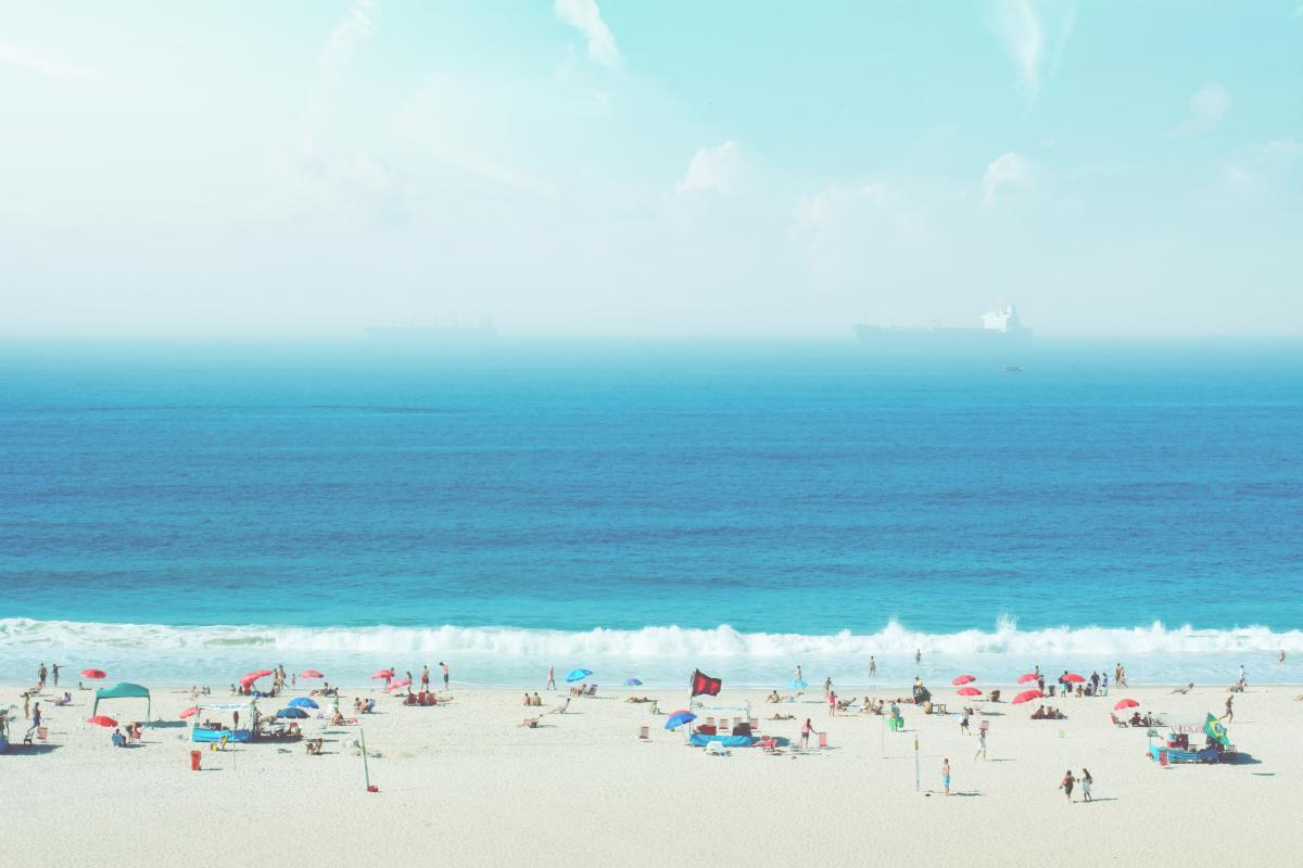 beach sand people