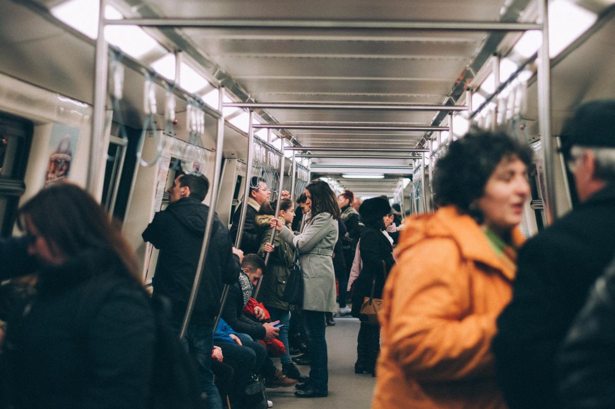 Passenger Subway train Train #241966