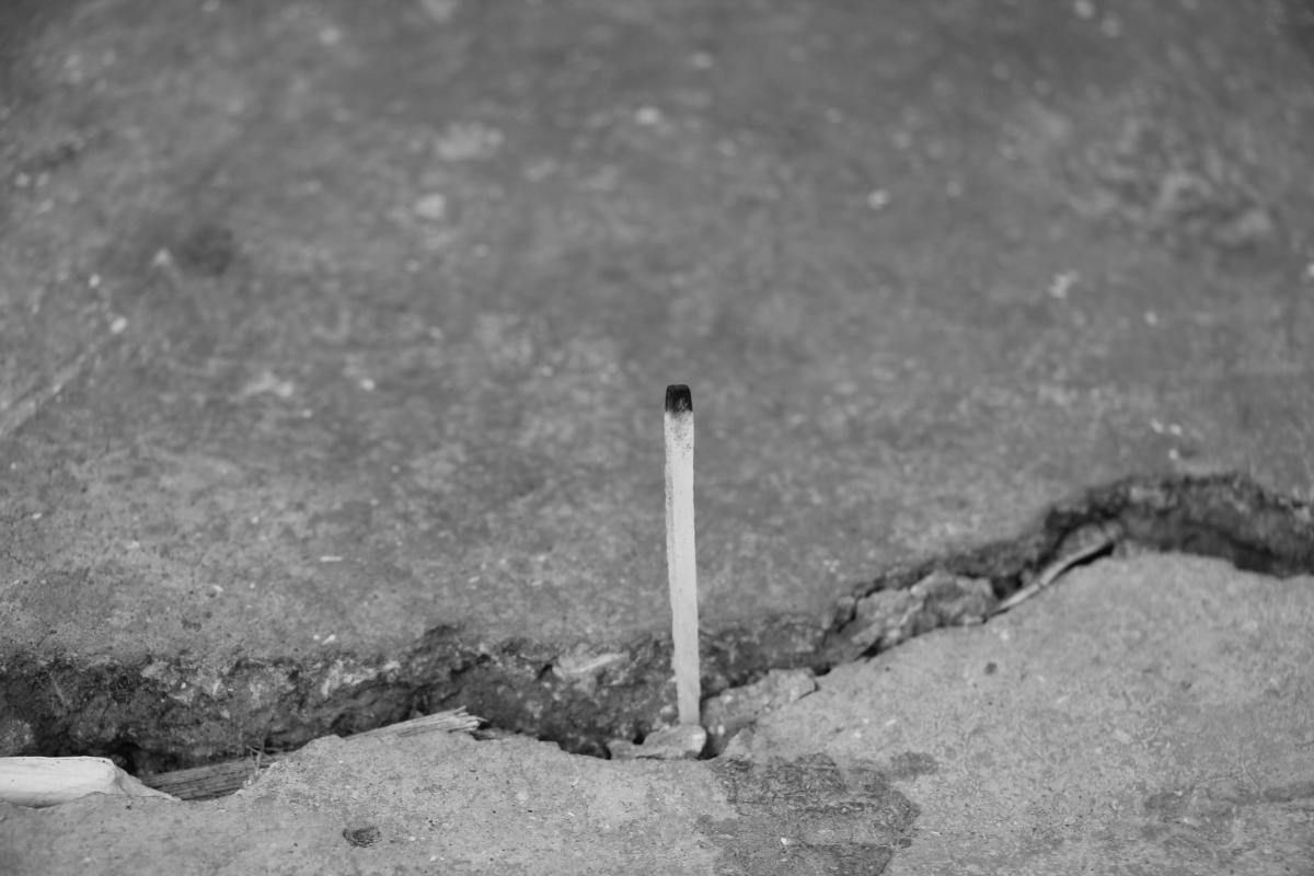 Matchstick Stick Pole