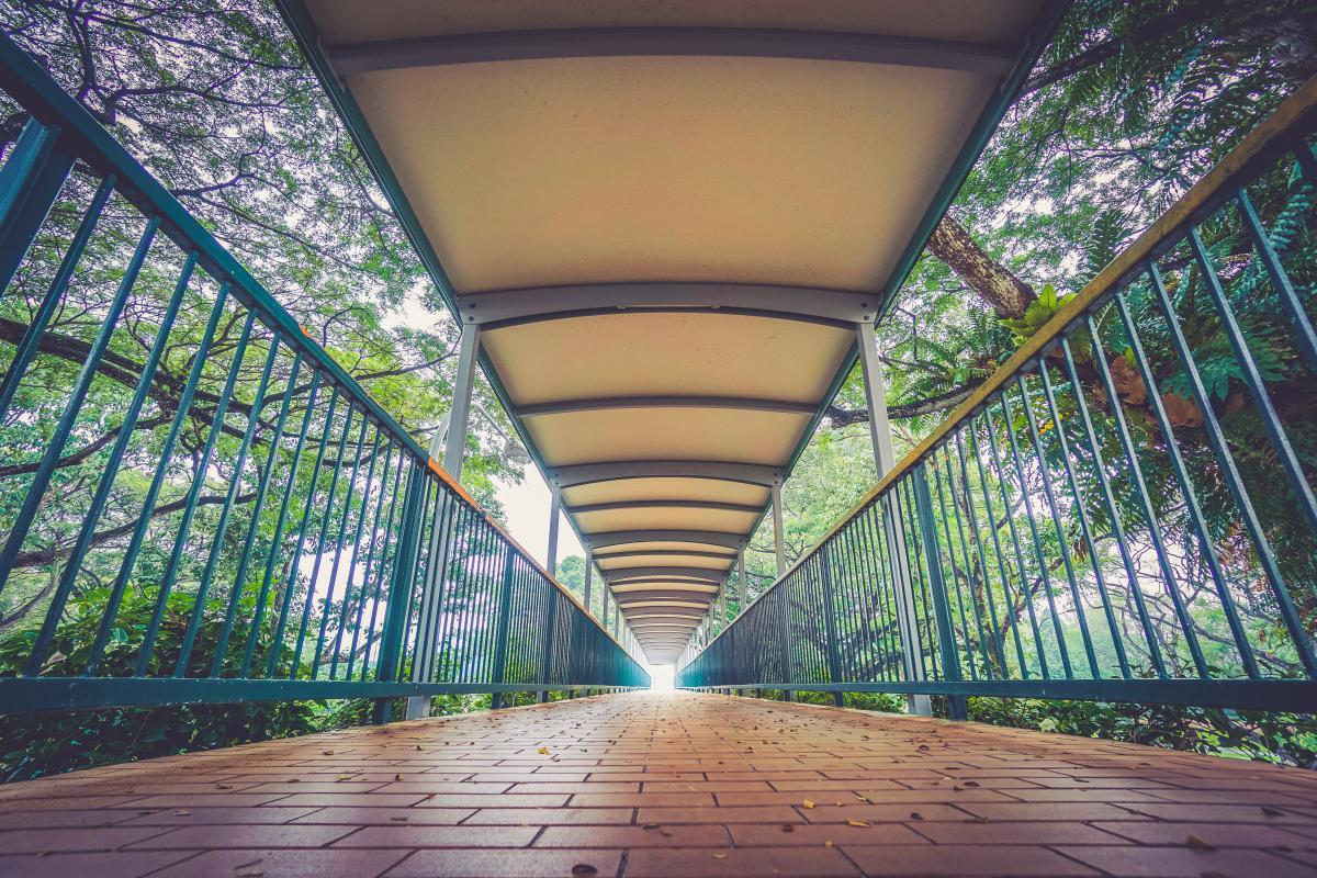 bridge path cobblestone