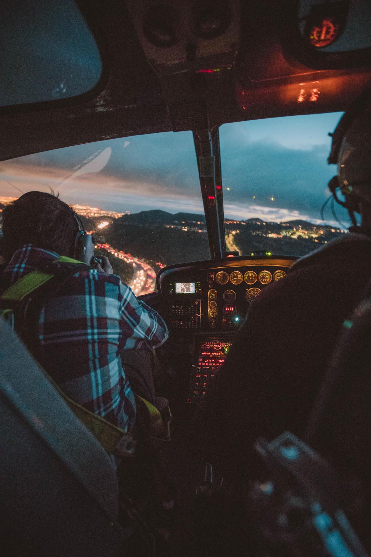 Cockpit Flight simulator Car