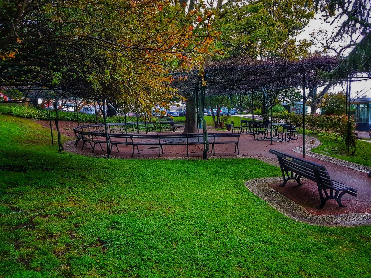 Bench Yard Park 262035