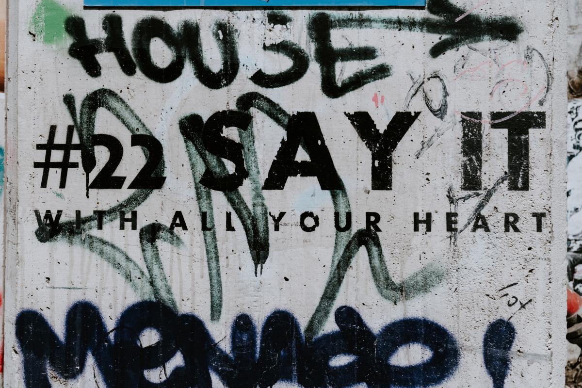 Graffito Decoration Vintage #264873