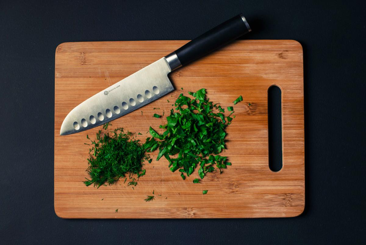 Chopped parsley and dill #26717