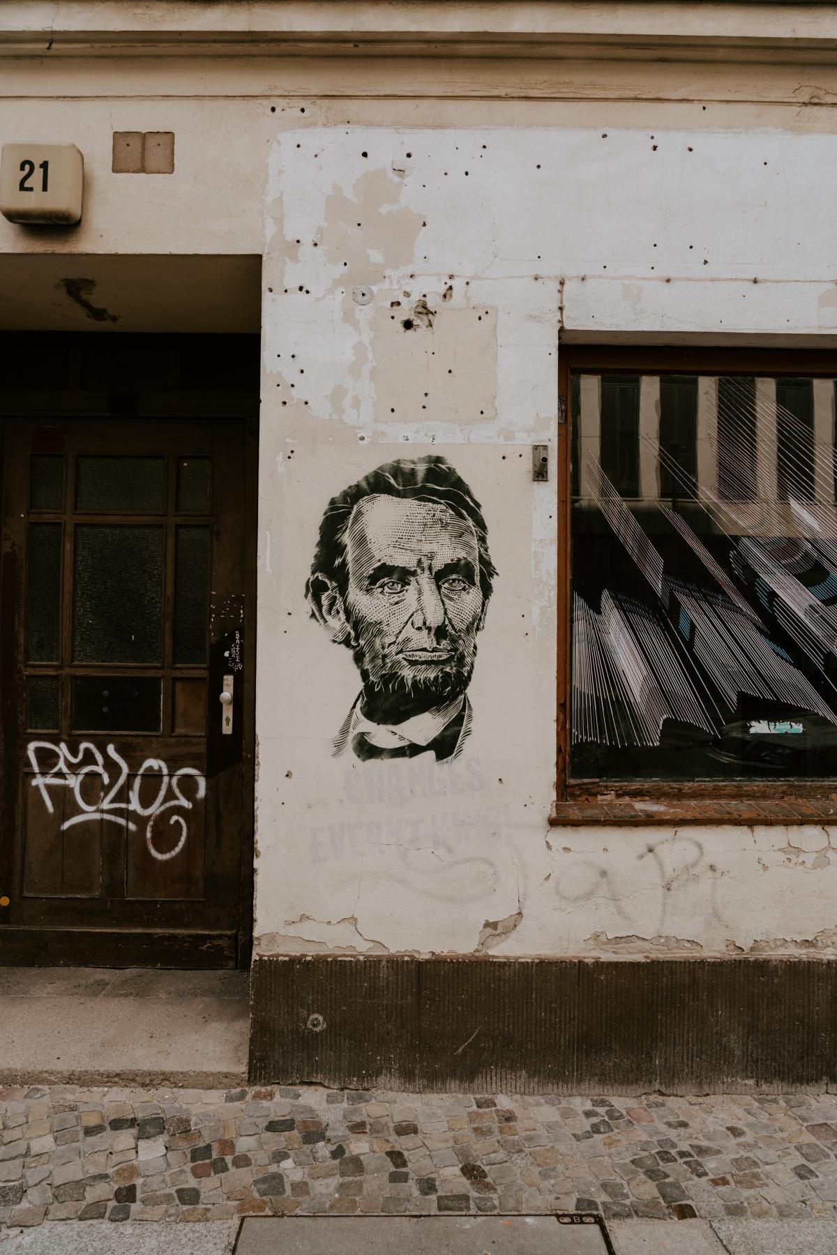 Graffito Decoration Door #267476