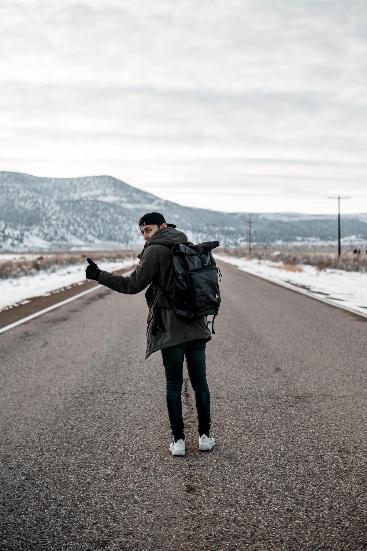 Mountain Man Tourist