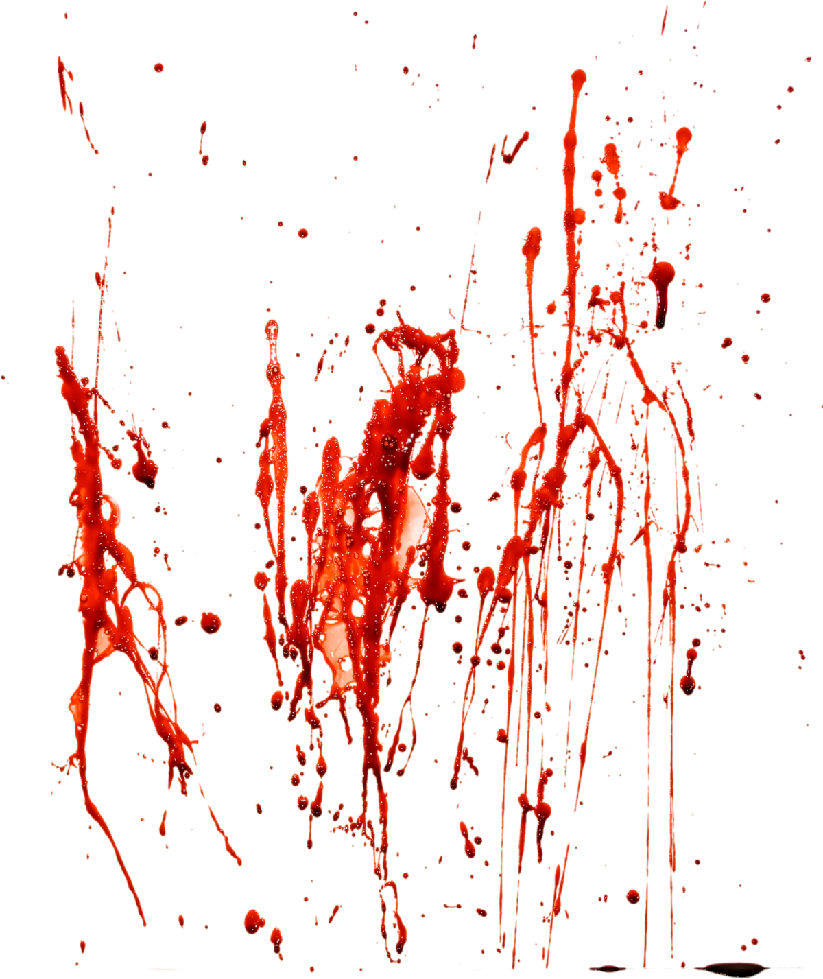 how to make a blood splatter effect on paper