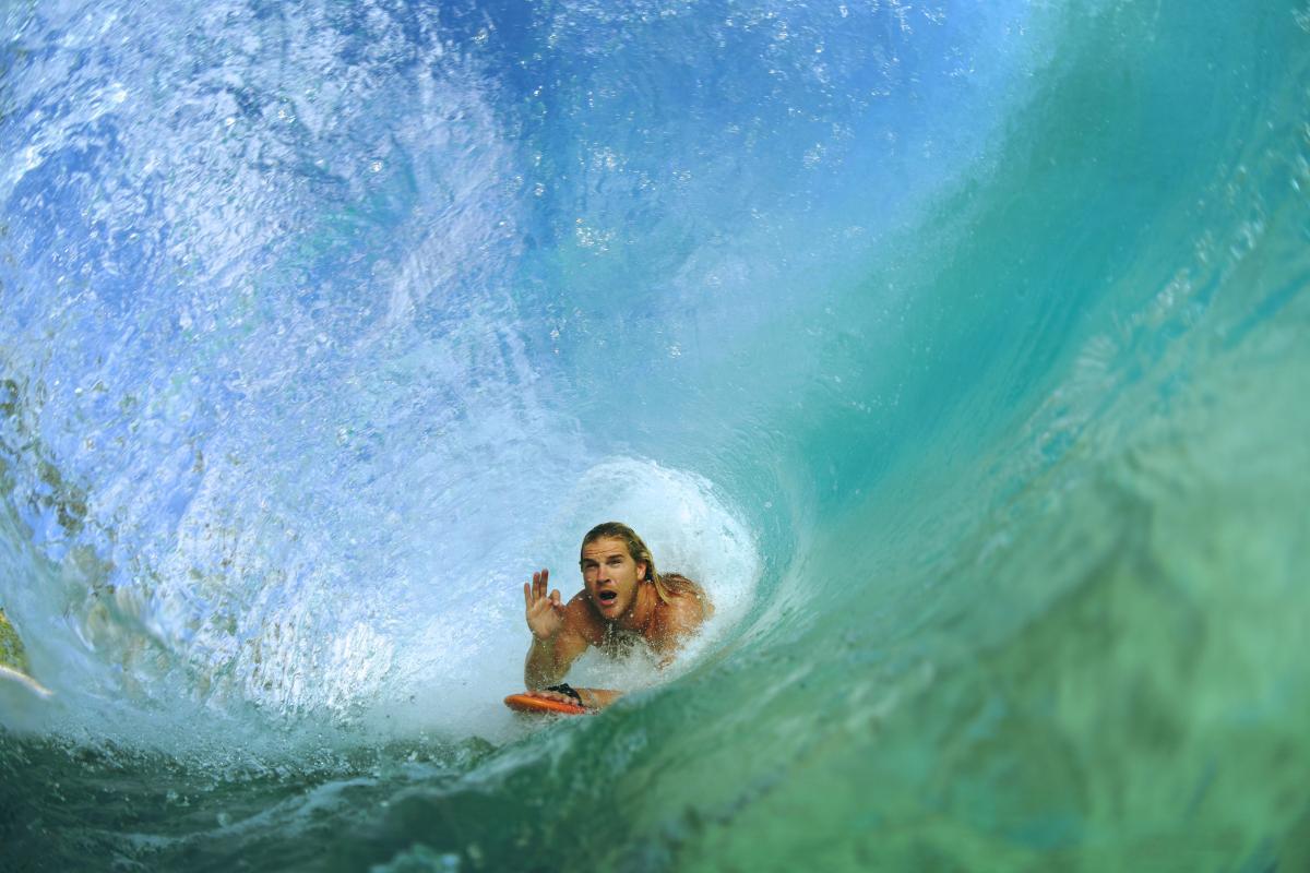 Swimmer Surfer Water #299945