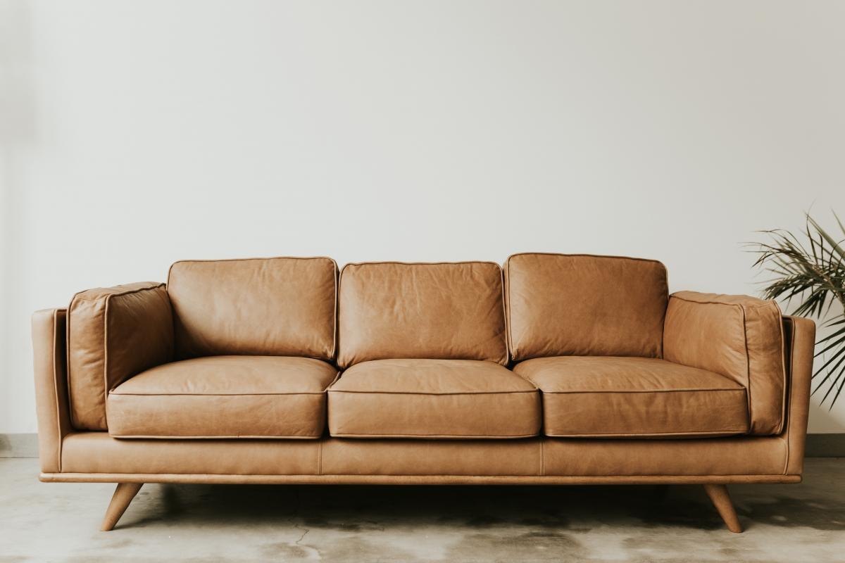 Leather Animal skin Sofa #306739