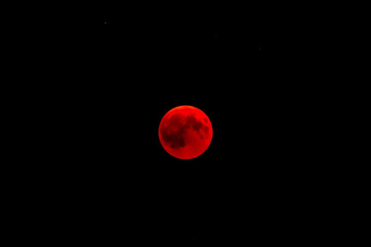 Frame Photograph Moon
