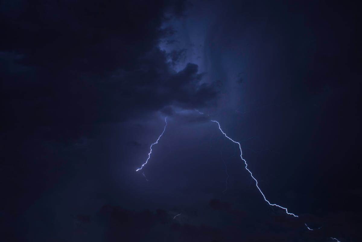 Lightning Light Sky