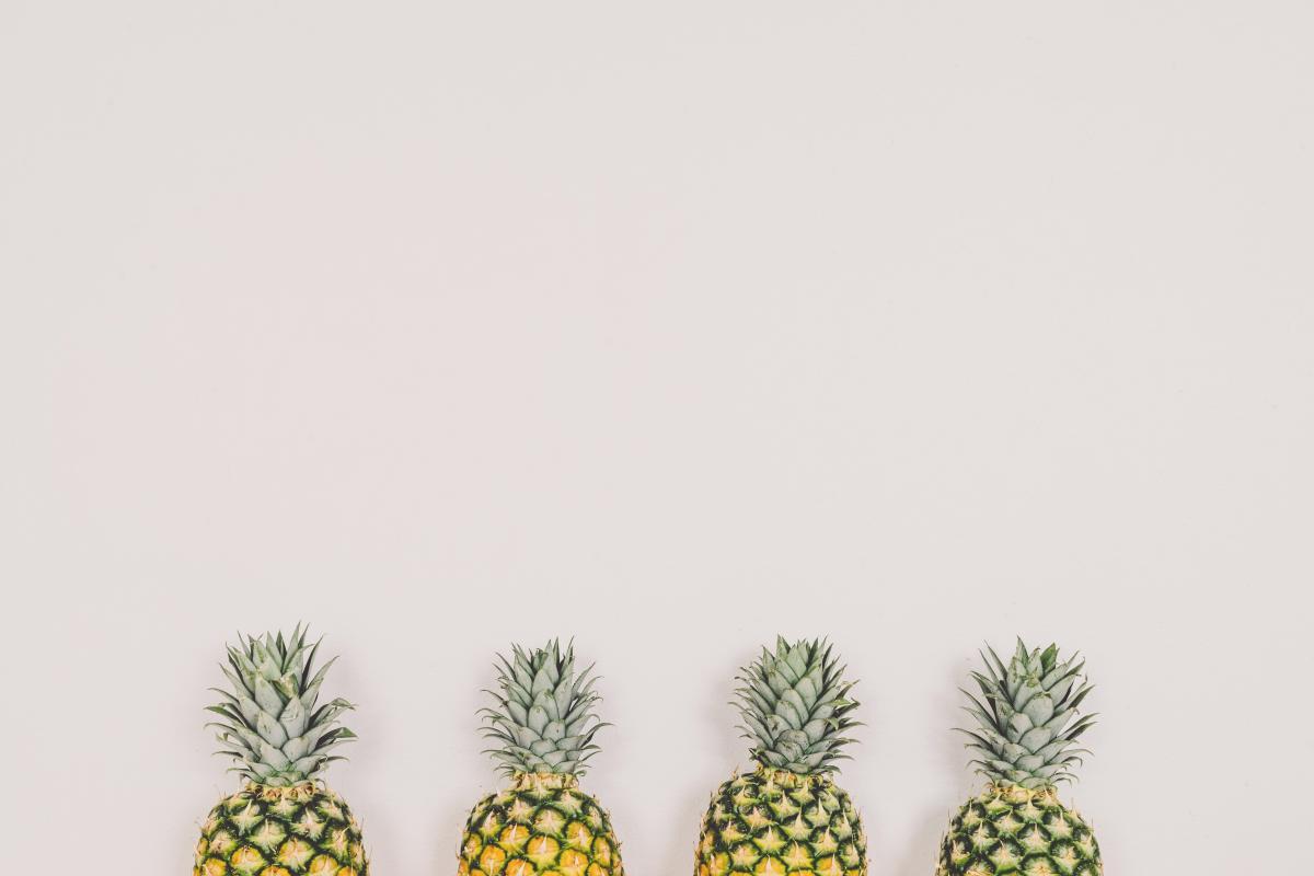 4 Pineapples Photo #32183