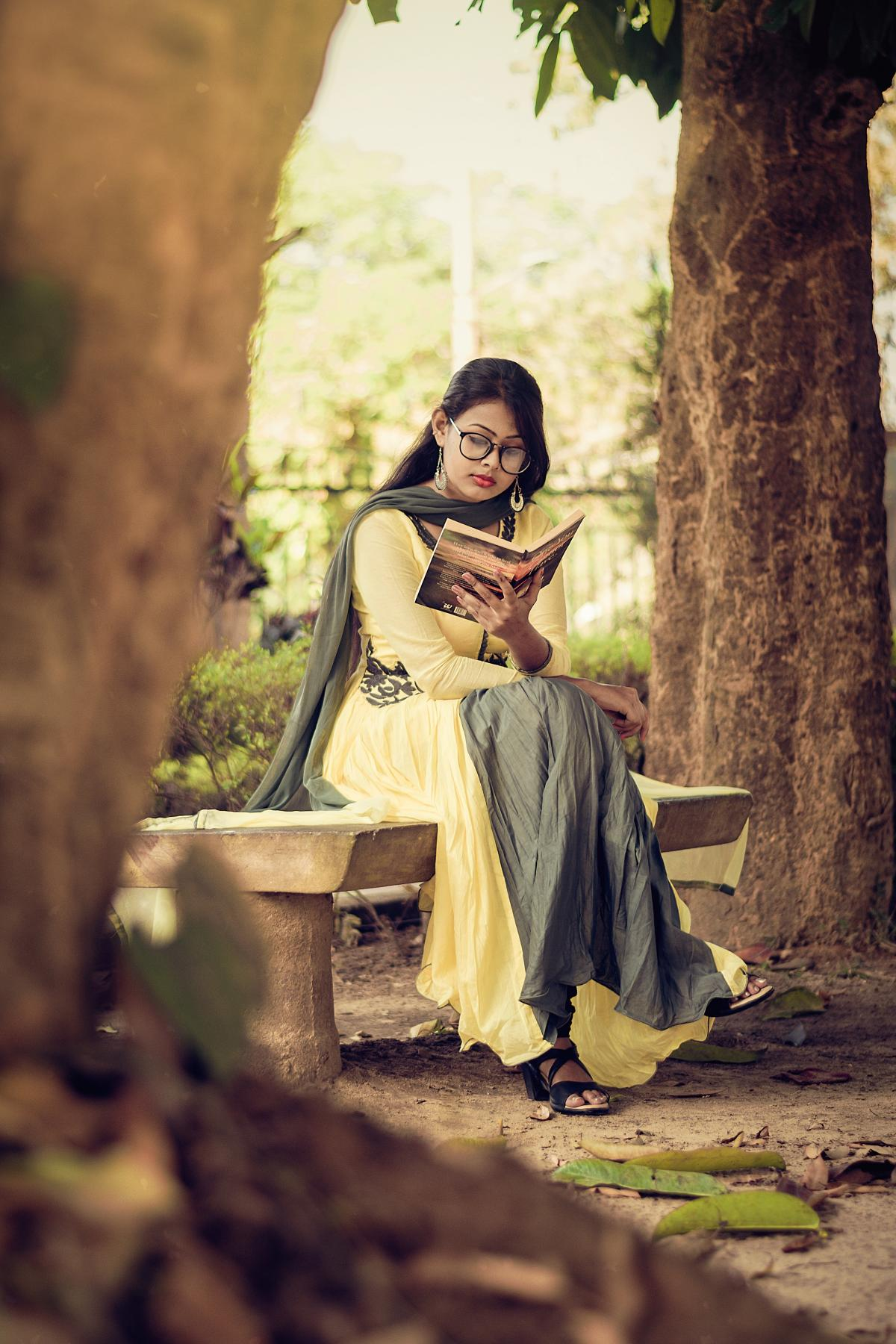 Woman Reading Book #327167
