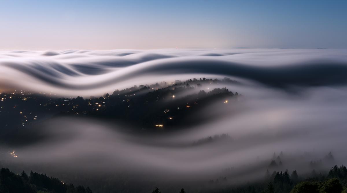 Fog Covered Landscape #328854