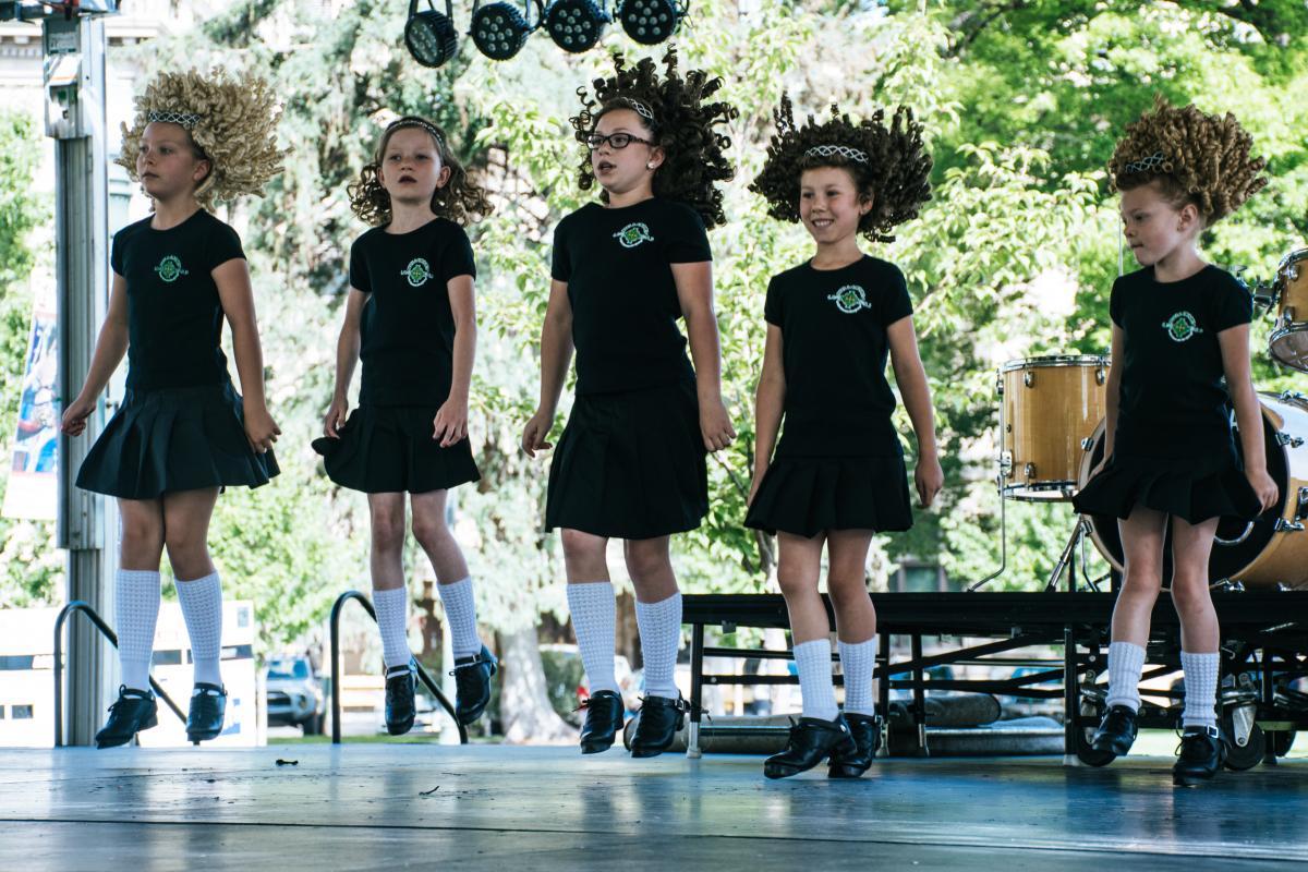 Group of Girls Taking Performance
