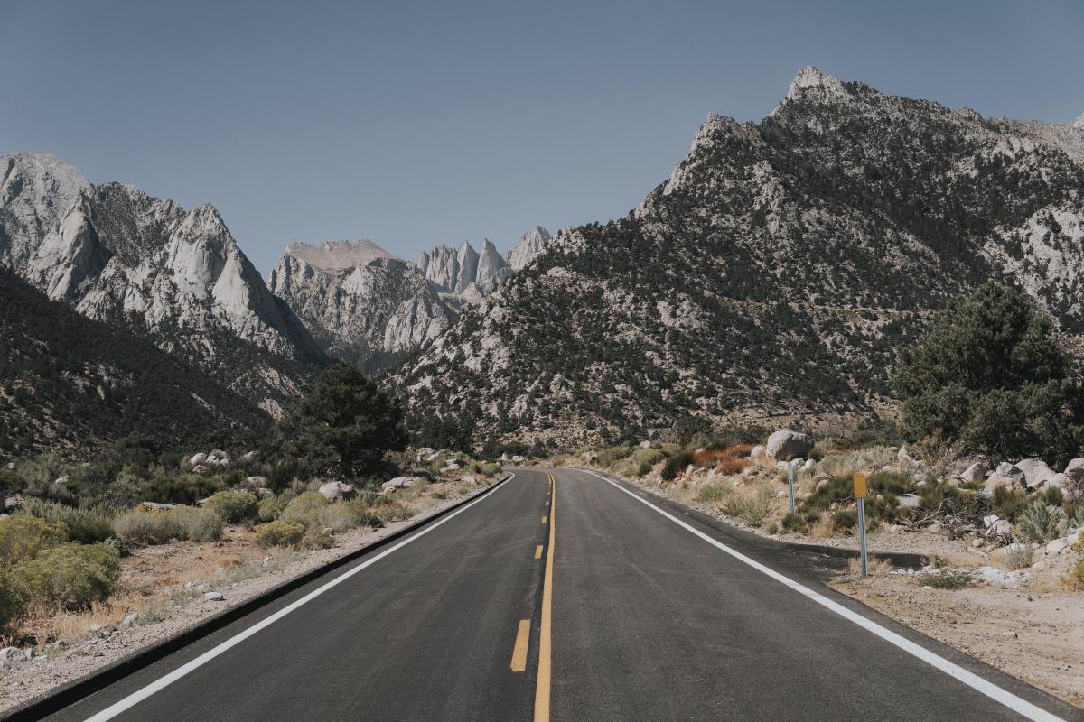 Road Mountain Landscape #349126
