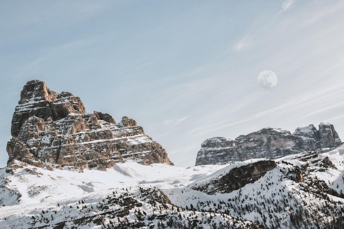 Snow Mountain Glacier #352717