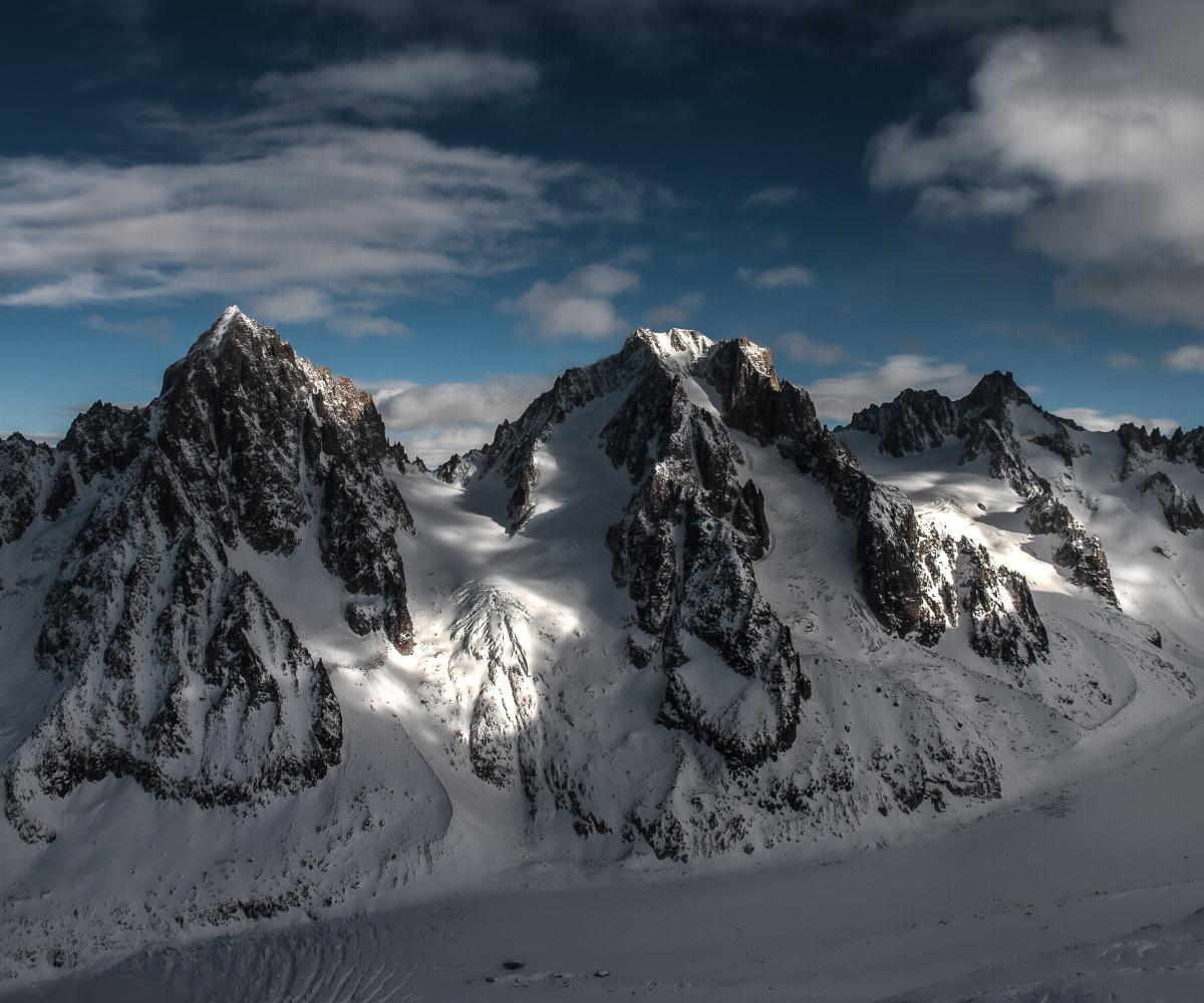 Glacier Mountain Snow #353799