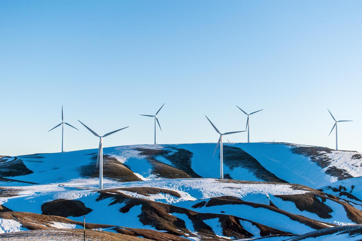 Turbine Sky Wind