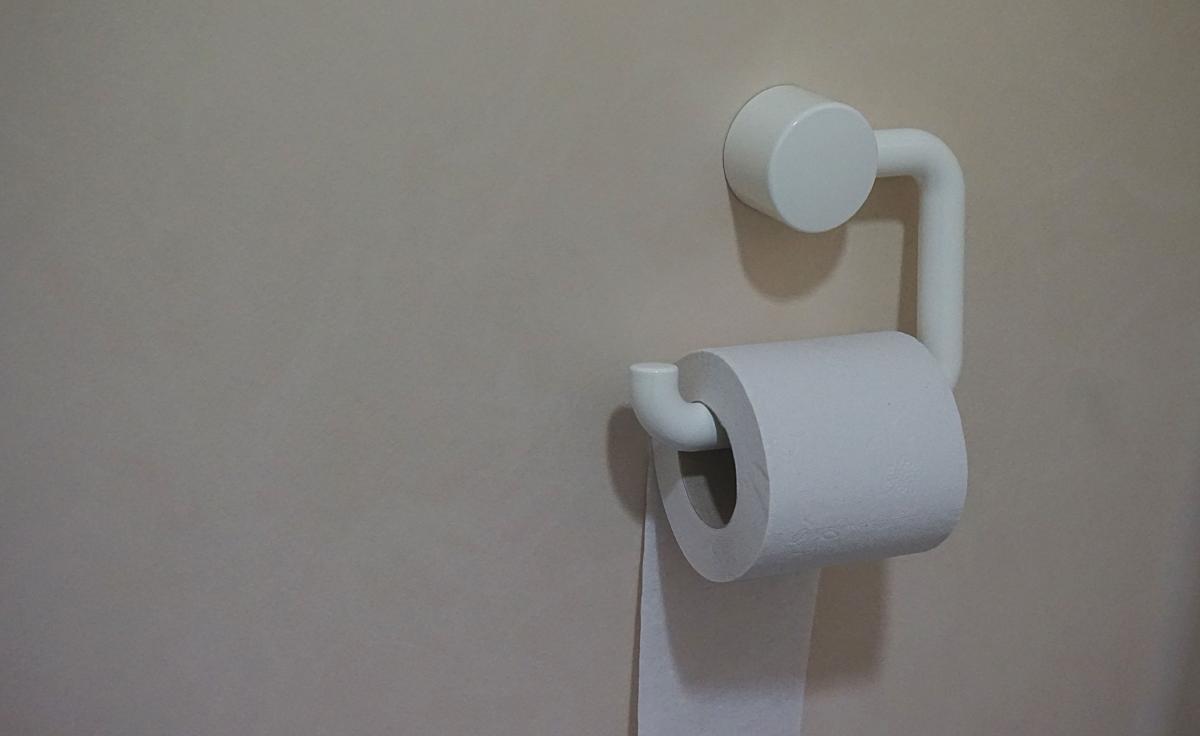 White Toilet Paper #36679