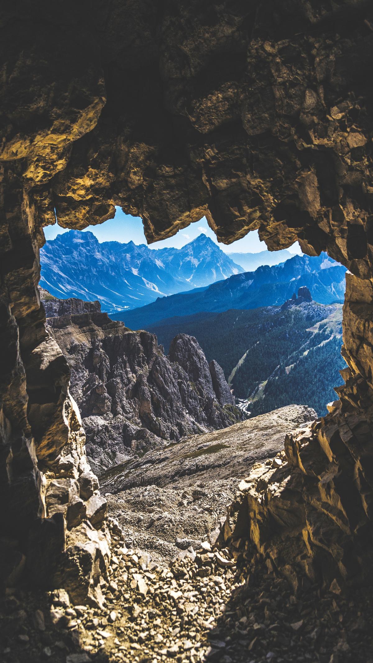 Mountain Glacier Landscape