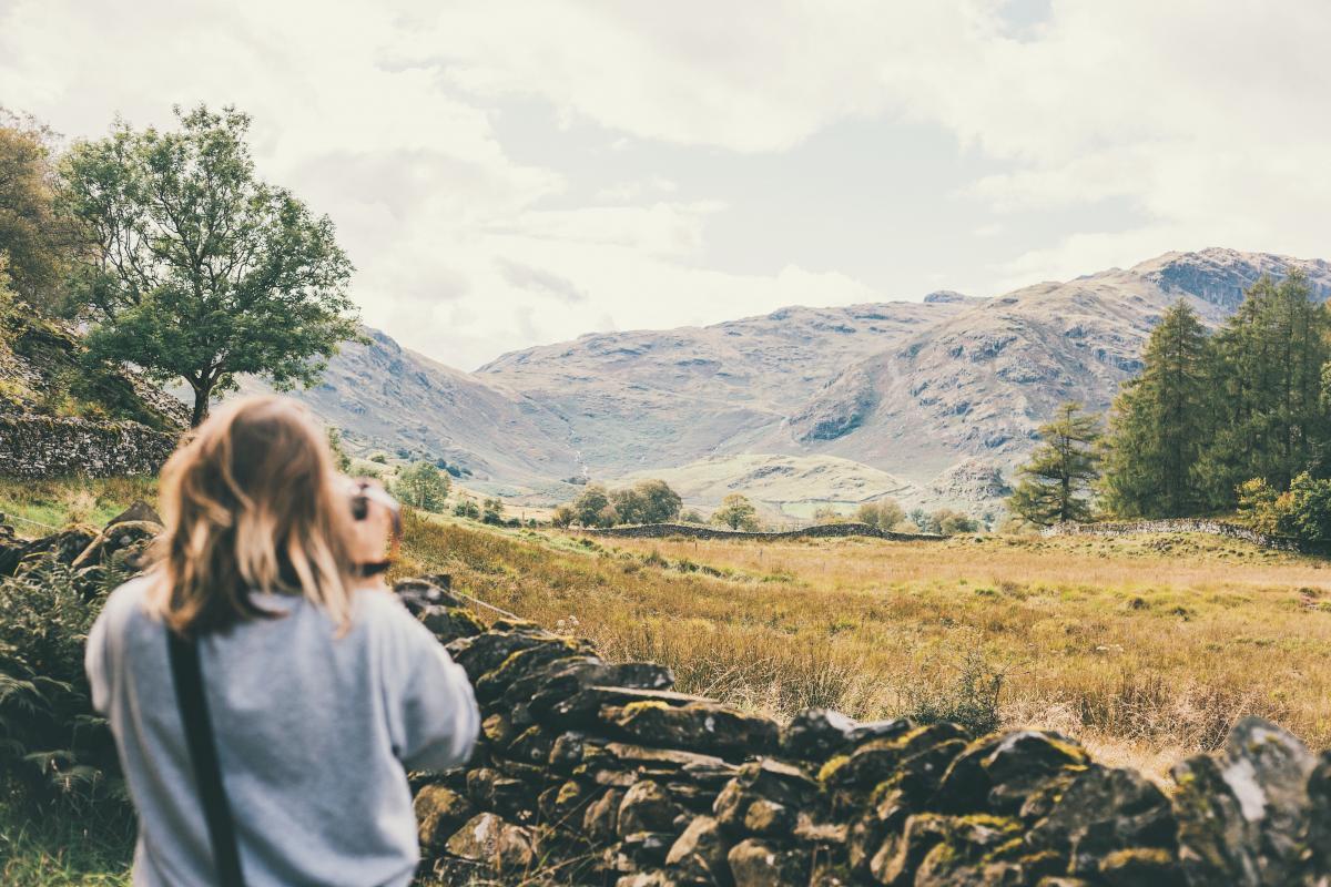 Highland Landscape Mountain #367670
