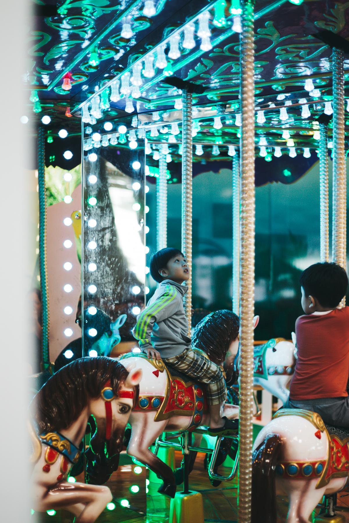 Carousel Ride Mechanical device #368184
