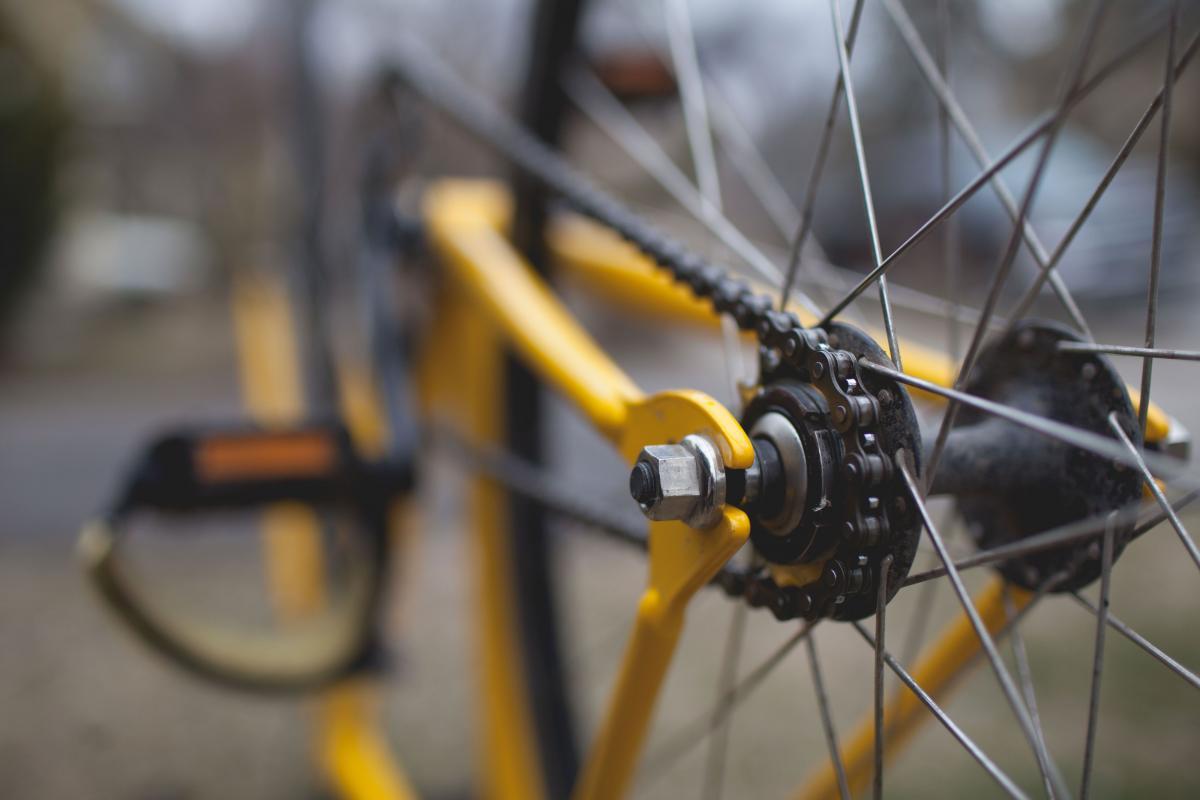 Silver Bicycle Rim #36957