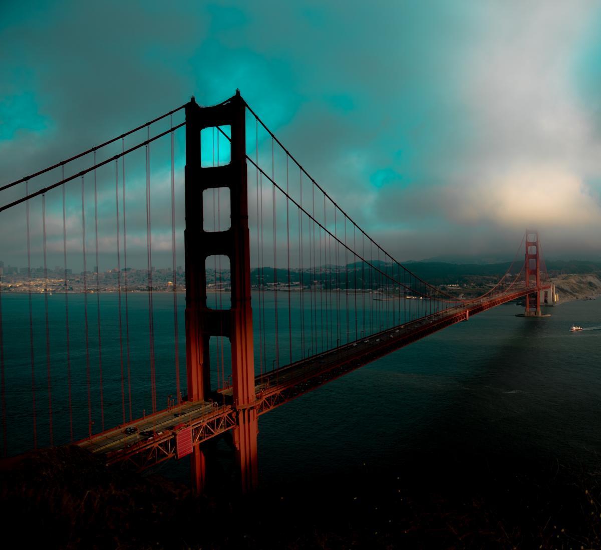 Pier Bridge Suspension bridge #370442