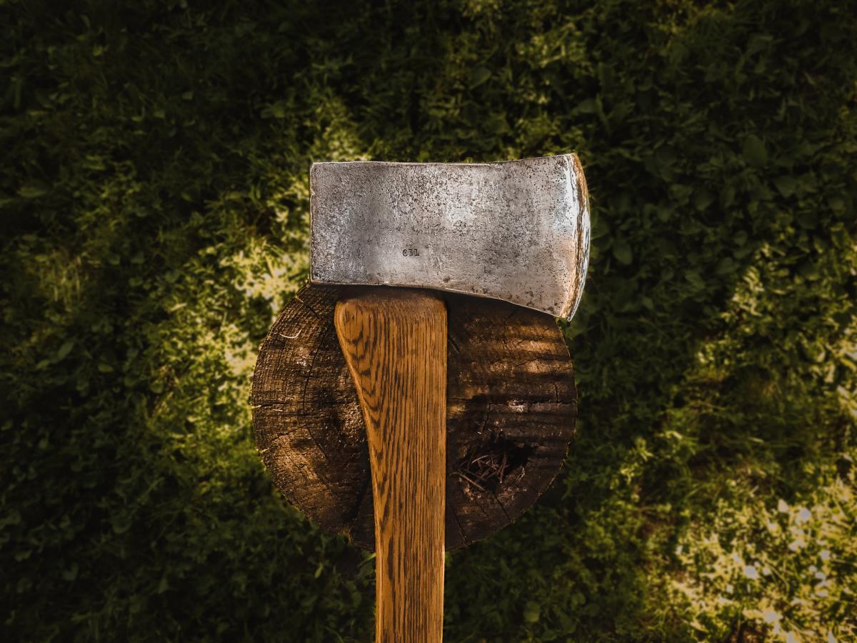 Hatchet Tomahawk Edge tool #382982