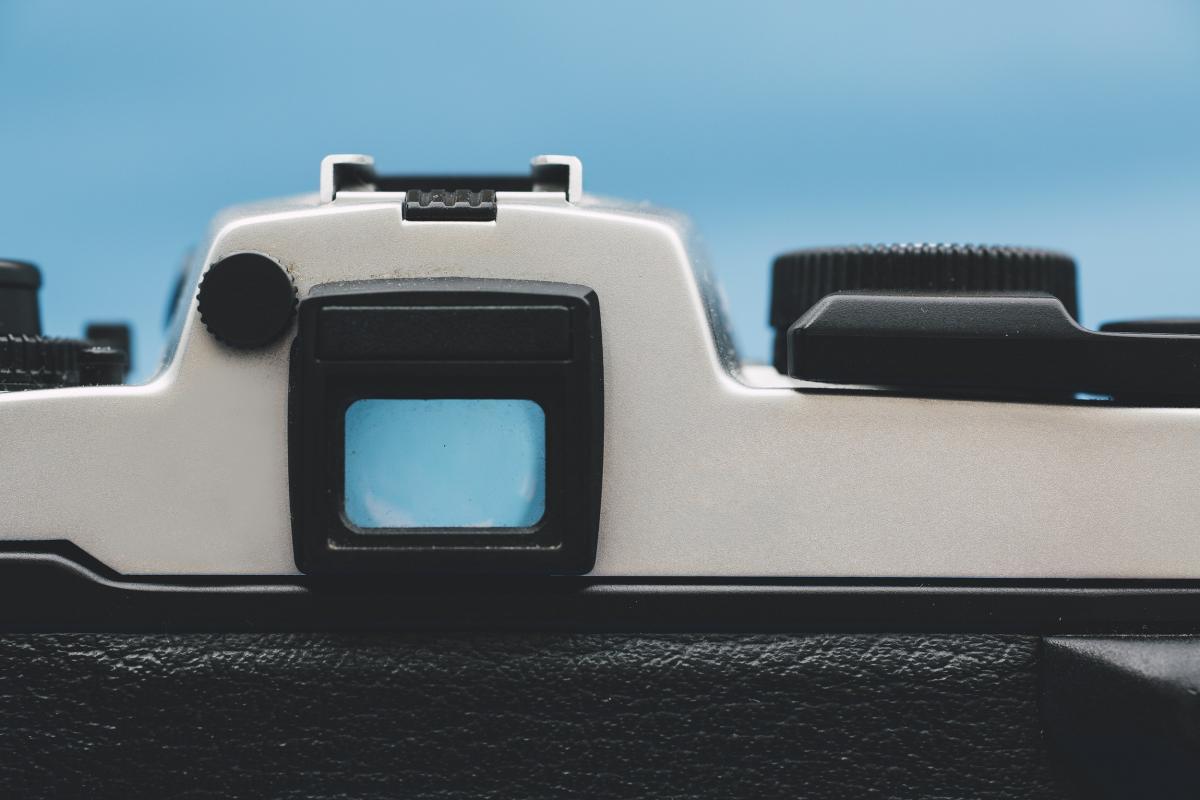 Vintage analog 35mm film camera