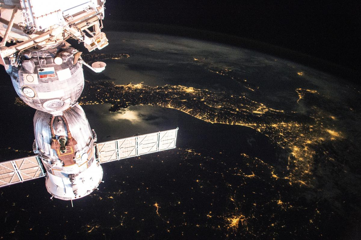 Earth observation taken by the Expedition 43 crew ISS043. Original from NASA .