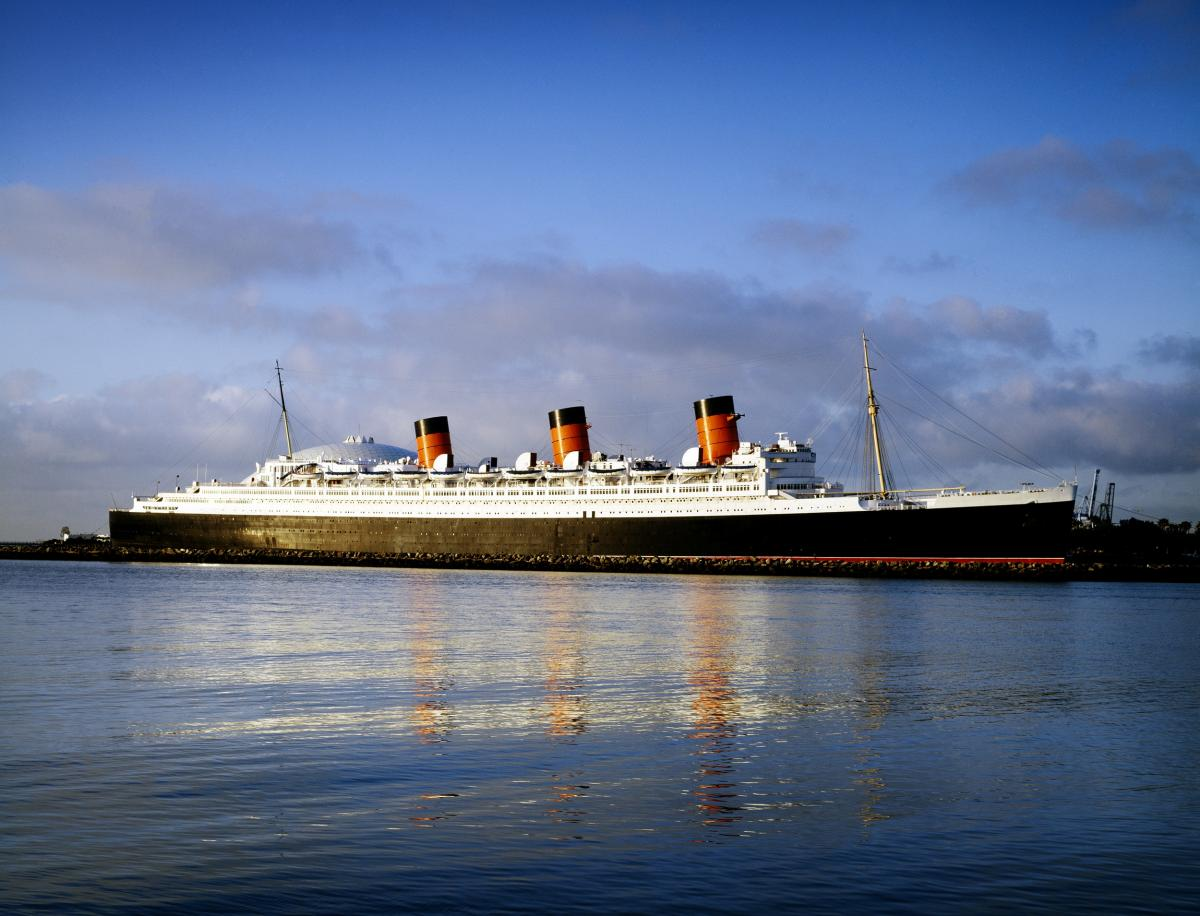 Queen Mary. Original image from Carol M. Highsmith's America, Library of Congress collection.  #385983