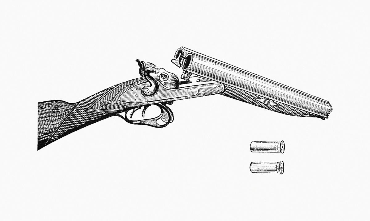 Shot gun published by Henry Herbert (1872). Original from the British Library.