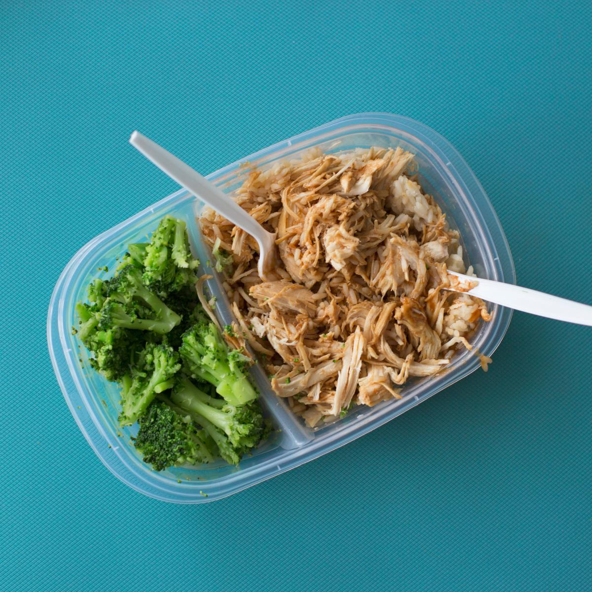Tuna Salad on Transparent Lunch Pack #39214