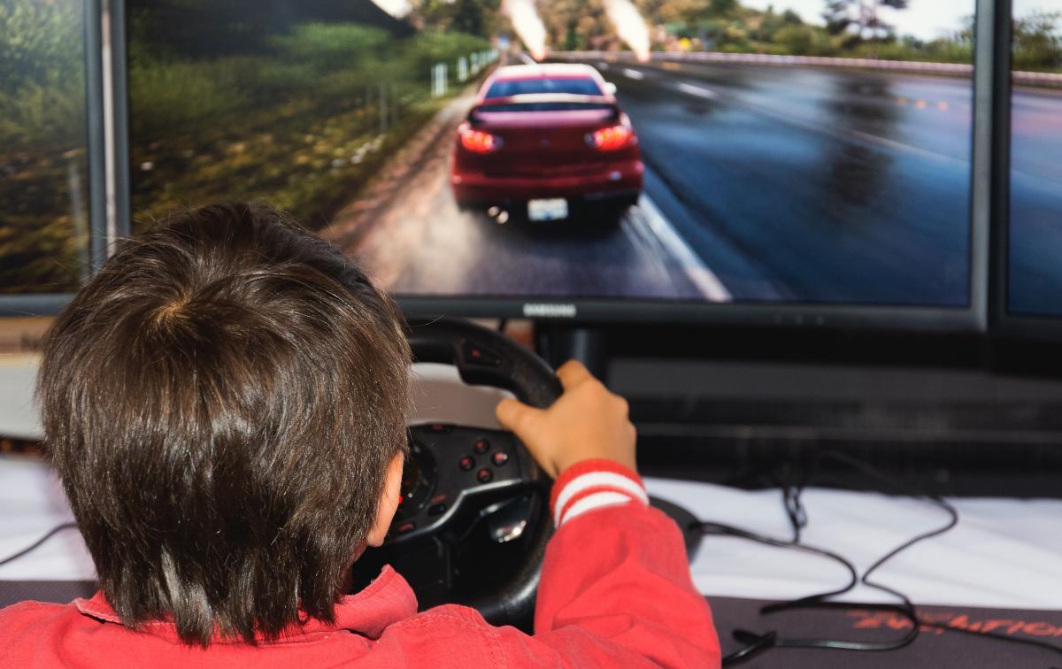 Children Playing PC Game - free stock photo