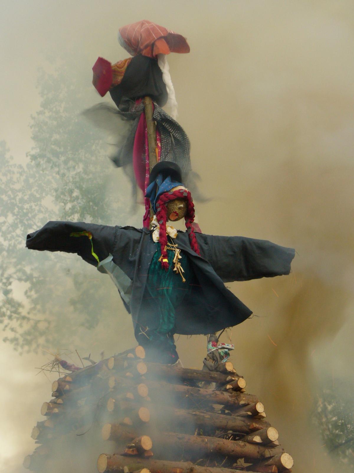 Burning Witches - free stock photo